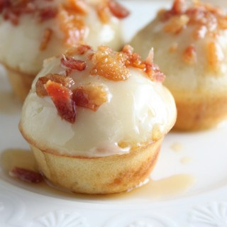 Maple Bacon Pancake Bites - www.vixenskitchen.com